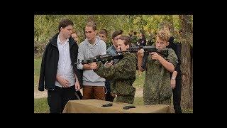 На территории Детского парка в Анапе состоялся «Военизированный кросс»