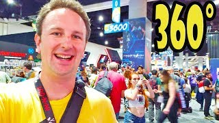 360 Video San Diego Comic Con 2018 Exhibit Hall