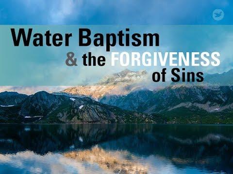 Apa yang ingin diselesaikan Yesus melalui baptisan air kita?
