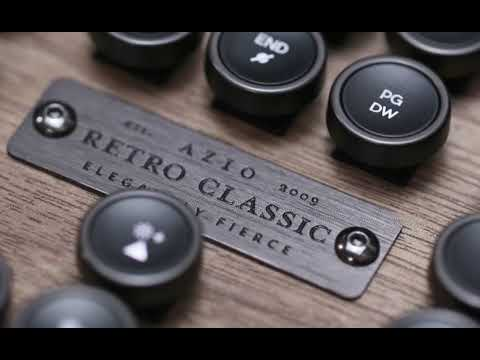 Azio Industry First Luxury Vintage Keyboard-GadgetAny