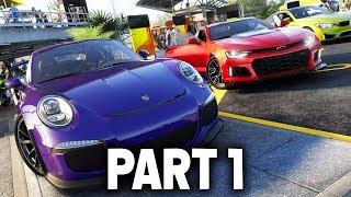 The Crew 2 Gameplay Walkthrough Part 1 - MY FIRST CAR & PLANE (Full Game)