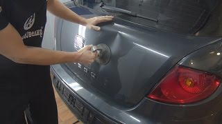 Тянем снаружи Dent Removal pull out.