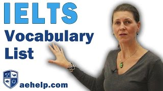 IELTS Vocabulary 570 Important Words to Know