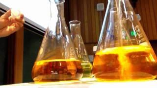 Chromate-dichromate equilibrium