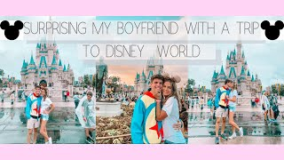 I SURPRISED MY BOYFRIEND WITH A TRIP TO DISNEY WORLD!!!!