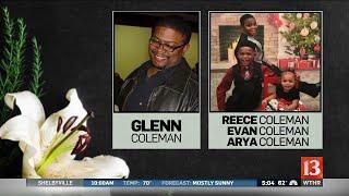 Tia Coleman buries family