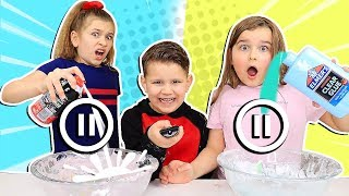 PAUSE CHALLENGE WHILE MAKING SLIME!! **Gone Wrong!** | JKrew