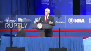 USA: Pence calls Obamacare promises