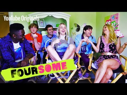 Play Never Have I Ever with JennxPenn, Logan Paul, Rickey and the cast of Foursome.