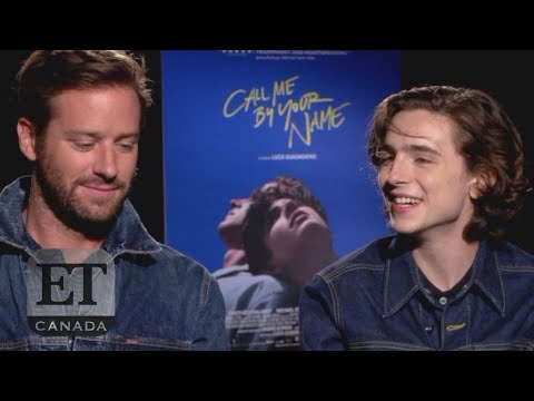 Armie Hammer, Timothee Chalamet 'Call Me By Your Name' Interview