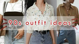 90s inspired outfit ideas | Annesthetic Diary