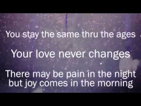 Your Love Never Fails Backing Track