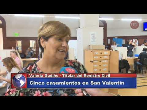 Casamientos en San Valentín (Valeria Gudiño, Defensa Civil)