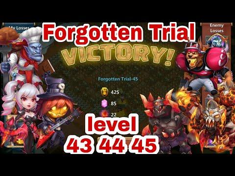 Forgotten Trial - Level 38   Hero Set Up   Drop Point   19