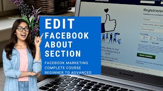 Facebook page about section story | Edit & Write About Section | Facebook Marketing Complete Course