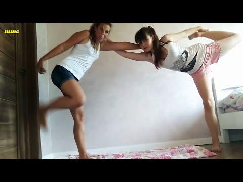 Yoga Challenge Fantastic girls   YouTube