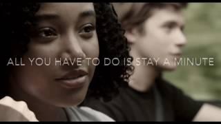 Stay - Zedd (lyric Video From Everything Everything Movie)