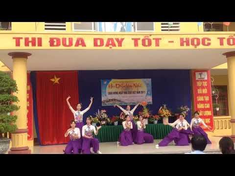 múa chào mừng ngày nhà giáo Việt Nam 20/11/2019