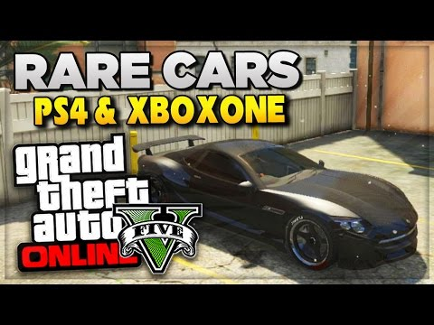 GTA 5 Next Gen PS4 Rare Cars & Secret DLC Vehicle Prices For GTA 5 Online (GTA V Gameplay)
