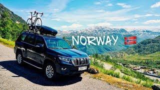 Невероятно красивая Норвегия, на машине по Скандинавии. Дорога на язык тролля. Часть 7