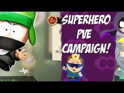 🔴 Super Hero Theme PvE Campaign Part 4! (+Locker Event)  - South Park Phone Destroyer