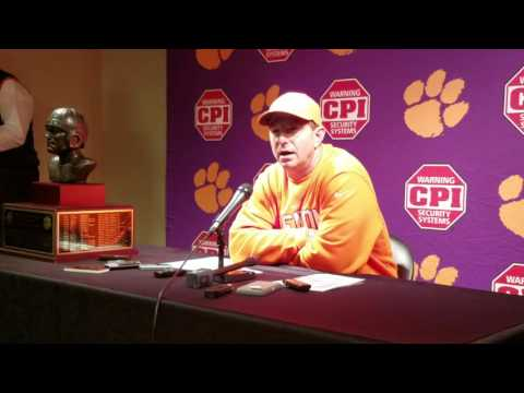 TigerNet.com - Dabo Swinney post BC