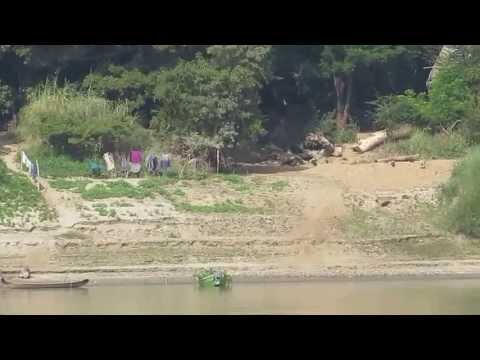 Life along the Irrawaddy river from Baga