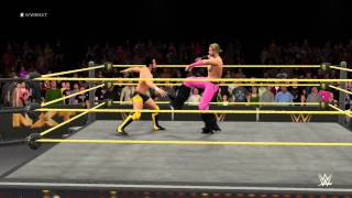 wwe-2k16-new-gameplay-video-feat-hideo-itami-vs-tyler-breeze-highlights