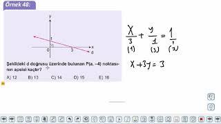 Eğitim Vadisi 11.Sınıf Matematik 6.Föy Analitik Düzlem 5 Konu Anlatım Videoları