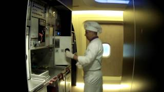 How It's Made! Airline Meals With Turkish Airlines. Business Class Inflight Chefs!