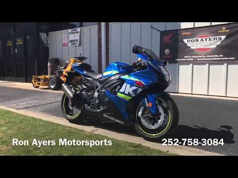 2017 Suzuki GSX-R600 in Greenville, North Carolina - Video 1