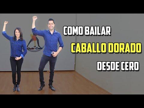 COMO BAILAR CABALLO DORADO DESDE CERO
