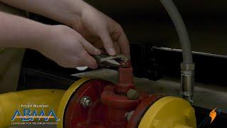 Re-Lubrication Maintenance of a Plug Gas Valve