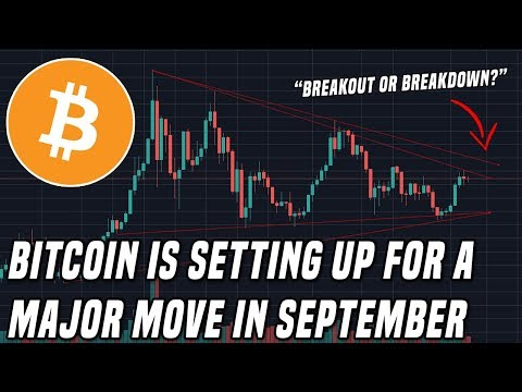 Bitcoin To $20,000 or $6,000? | September is the month to watch!