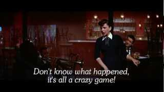 The Man That Got Away - Karaoke - Judy Garland - Lyrics - A Star Is Born -  Instrumental only