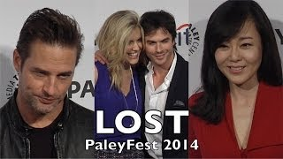 LOST 10th Anniversary Reunion PaleyFest Ian Somerhalder, Maggie Grace, Josh Holloway