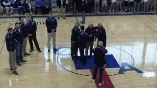Homecoming 2017: Basketball 1,000 Point Scorers Ceremony