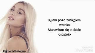 Ariana Grande - Bad Idea (Tłumaczenie PL)