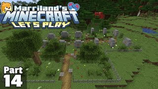 Let's Play Minecraft, Part 14: THE GRAVEYARD! (Survival, Java Edition)