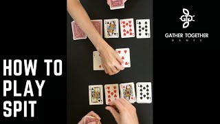 How To Play Spit (Card Game)