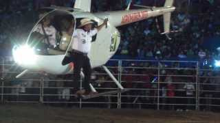 Agro Purus 2013 Show Na Abertura Com O Helicoptero Do CMT JACK