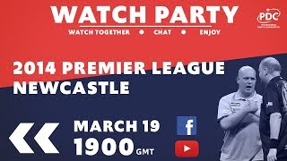 PDC Rewind | Premier League Darts | Newcastle 2014