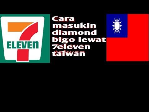 CARA MASUKIN DIAMOND BIGO LEWAT 7ELEVEN TAIWAN