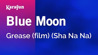 Karaoke Blue Moon - Grease *