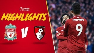 Firmino's Outrageous Assist For Salah | Liverpool 3-0 Bournemouth | Highlights