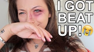 I GOT BEAT UP! PRANK ON BOYFRIEND!!!