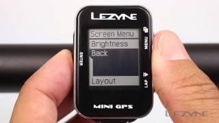 Lezyne Mini GPS: Additional Customization