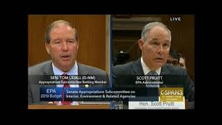 Udall grills Pruitt about emails