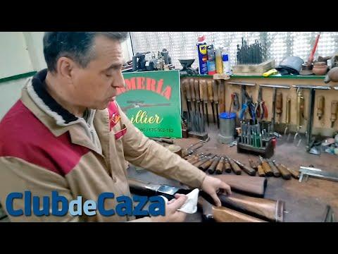 Cómo reparar golpes y arañazos en culatas y guardamanos