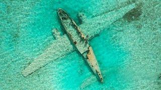 Found Sunken Drug Plane in the Ocean! (Explored for Treasure)